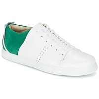 Shoes Men Low top trainers M. Moustache RENE White / Green