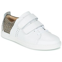 Shoes Women Low top trainers M. Moustache RENEE White / BEIGE
