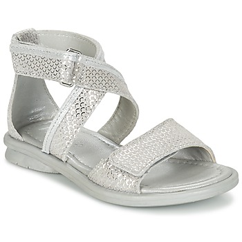 Shoes Girl Sandals Mod'8 JENY Silver