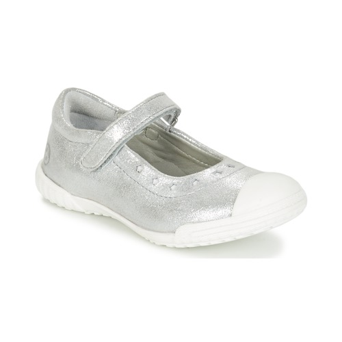 Shoes Girl Flat shoes Mod'8 PRISCA Silver
