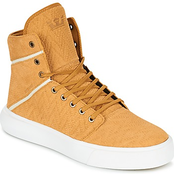 Supra  CAMINO  mens Shoes (Hightop Trainers) in yellow