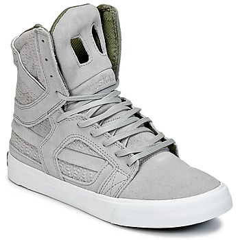Shoes Hi top trainers Supra SKYTOP II Grey