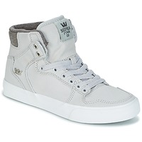 Shoes Hi top trainers Supra VAIDER Grey