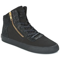 Shoes Women Hi top trainers Supra WOMENS CUTTLER Black