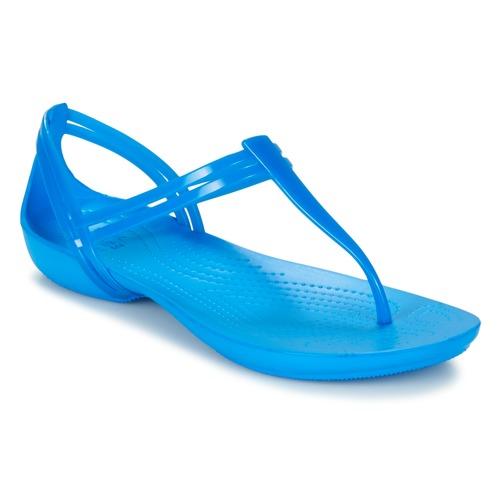 Shoes Women Sandals Crocs CROCS ISABELLA T-strap Blue