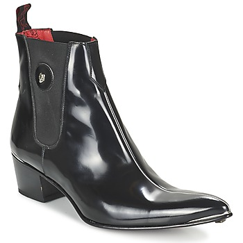 Shoes Men Boots Jeffery-West CENTRE SEAM CHELSEA  BLACK / RED