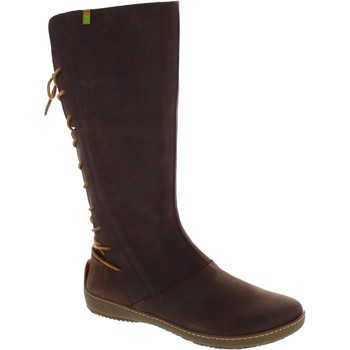Shoes Women High boots El Naturalista ND16 Brown