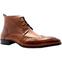 Shoes Men Derby Shoes Gucinari D369-E2 Tan