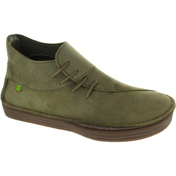 Ankle boots El Naturalista nf81 women's khaki lace up leather chukka style ankle boots new