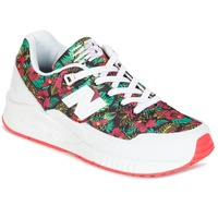 Shoes Women Low top trainers New Balance W530 Green / Red