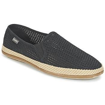 Shoes Men Espadrilles Bamba By Victoria COPETE ELASTICO REJILLA TRENZA Black