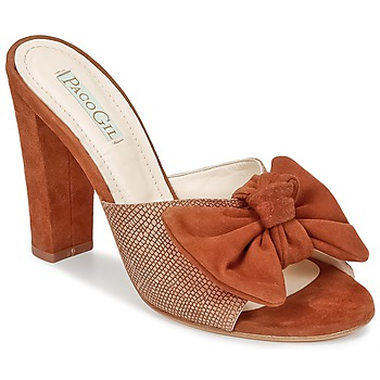 Shoes Women Mules Paco Gil BRAZIL Brown