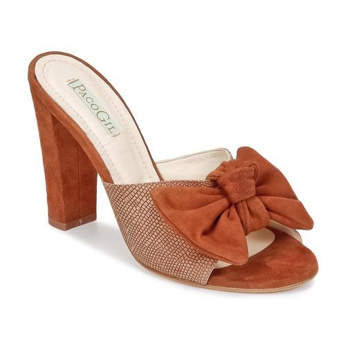 Shoes Women Mules Paco Gil BRAZIL Brown