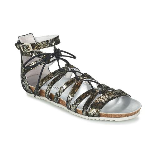 Shoes Women Sandals Regard RABAZO Black / Silver