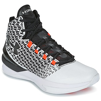 Shoes Men Basketball shoes Under Armour UA ClutchFit Drive 3 White