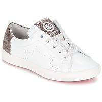 Shoes Girl Low top trainers Acebo's SOUDIN White