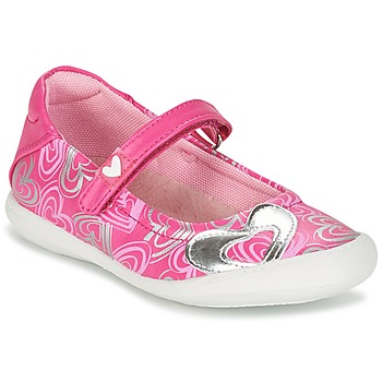 Shoes Girl Flat shoes Agatha Ruiz de la Prada BALOIN Pink