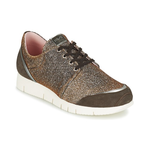 Shoes Women Low top trainers Unisa BOMBA Silver