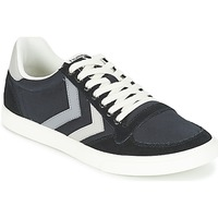 Shoes Low top trainers Hummel TEN STAR DUO CANVAS LOW Black