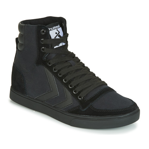 Shoes Hi top trainers Hummel TEN STAR TONAL HIGH Black