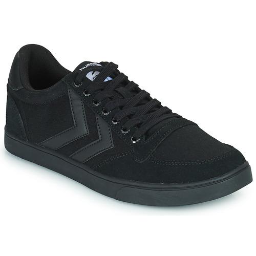 Shoes Low top trainers Hummel TEN STAR TONAL LOW Black