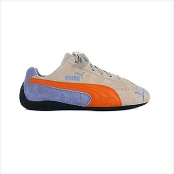 Shoes Children Low top trainers Puma Speed Cat Blue-Cream-Orange