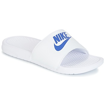 Shoes Men Mules Nike BENASSI JUST DO IT White