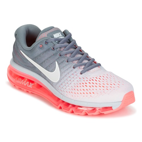 e024c69f1c ... release date shoes women running shoes nike air max 2017 grey pink  c3609 9d07f