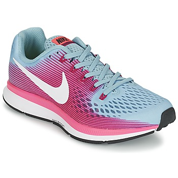 Shoes Women Running shoes Nike AIR ZOOM PEGASUS 34 Blue / Fuschia