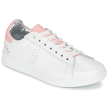 Shoes Women Low top trainers Ippon Vintage WILD MILO White / Pink