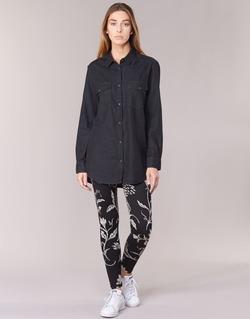 Clothing Women leggings Desigual CAMIOLES Black / Grey