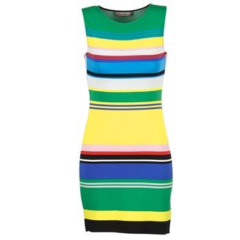 Clothing Women Short Dresses Desigual LIURASE Multicoloured