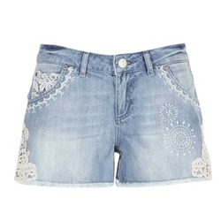 Clothing Women Shorts / Bermudas Desigual MARTESSA Blue