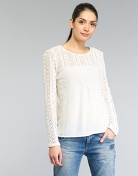 Clothing Women Tops / Blouses Desigual GERZA White