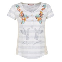 Clothing Women short-sleeved t-shirts Desigual TEDIREA White
