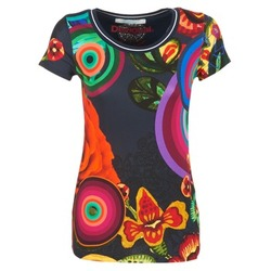 Clothing Women short-sleeved t-shirts Desigual GRIZILLO Multicoloured