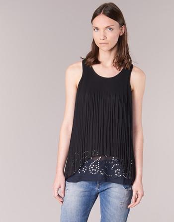 Clothing Women Tunics Desigual TUDURIA Black