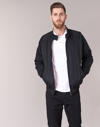 Clothing Men Jackets Ben Sherman HARRINGTON Black