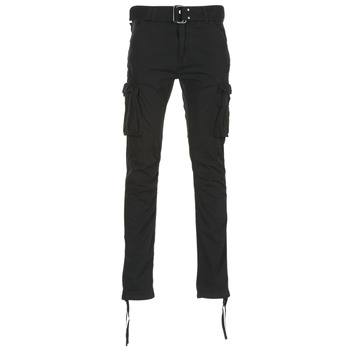 Clothing Men Cargo trousers Schott TR RANGER 70 Black