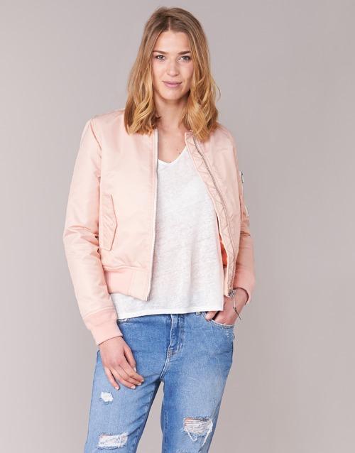 Clothing Women Jackets Schott BOMBER BY SCHOTT Pink