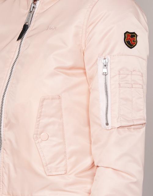 2020 Newest Schott BOMBER BY SCHOTT Pink 4783480 Women's Clothing