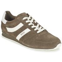 Shoes Men Low top trainers Hugo Boss Orange 50327304 TAUPE