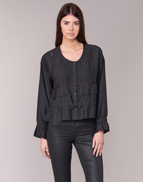 Clothing Women Tops / Blouses See U Soon 7113001 Black