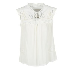 Clothing Women Tops / Blouses See U Soon 7116203 White