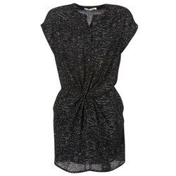 Clothing Women Short Dresses See U Soon 7121114 Black