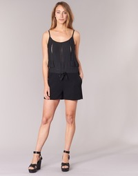 Clothing Women Jumpsuits / Dungarees See U Soon 7191003 Black