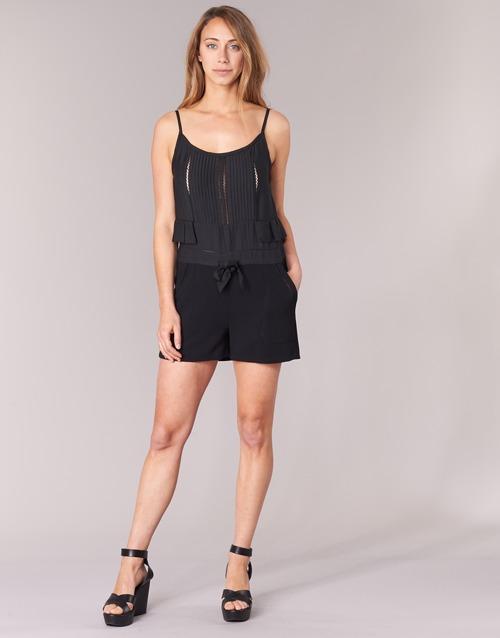 Clothing Women Jumpsuits / Dungarees See U Soon 7191003 Black