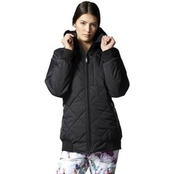 Clothing Women Duffel coats adidas Originals Originals Puffalicious Black