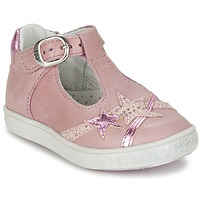 Shoes Girl Flat shoes Babybotte STARMISS Pink