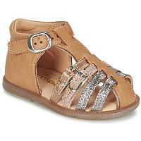 Shoes Girl Flat shoes Babybotte TWIX Camel